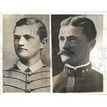 1900 Press Photo General Pershing on graduation from West Point and as a captain
