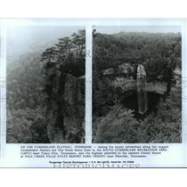 1991 Press Photo South Cumberland Recreation Area and Plateau in Tennessee