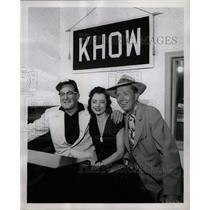 1958 Press Photo Radio Host Willie Hartzell - RRW12759