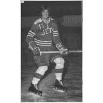 1972 Press Photo Hockey player Bob Shupe - sps12885