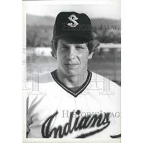 1975 Press Photo Spokane Indians baseball's Terry Shoebridge - sps12898