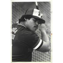 1982 Press Photo Gonzaga University baseball player, Gil Souza - sps12909