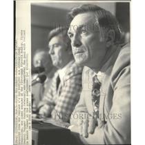 1976 Press Photo Pittsburgh Pirates baseball manager, Chuck Tanner - sps12935