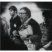1978 Press Photo Rogers High wrestling coach, Ken Pelo - sps13243