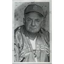 1973 Press Photo Del Wilber, professional baseball, manager for Spokane Rangers