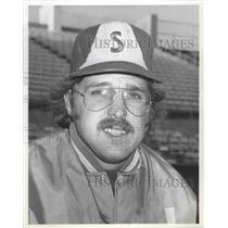 1979 Press Photo Spokane Indians player and coach Ken Pape - sps15695