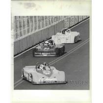 1987 Press Photo Sports car racing at the Spokane Grand Prix - sps15836
