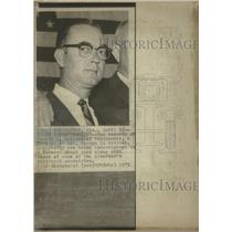 1971 Press Photo Gerald O. Wallace Investigated - RRW34735