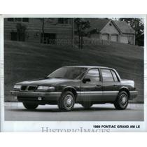 1988 Press Photo 1989 Pontiac Grand Am LE - RRX55089