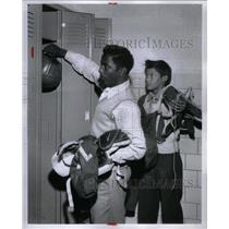 1956 Press Photo James Goodman & Edward Mate - RRX59421