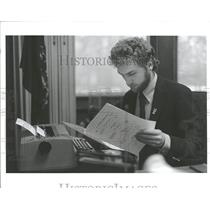 1988 Press Photo Philip Tanis Holland Michigan