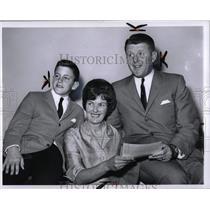 1965 Press Photo Judge Thomas Foley & Family