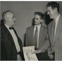1954 Press Photo Alabama-Birmingham-Gene Martin, George Murphree, Norman Cooper.