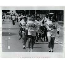 1933 Press Photo YMCA South Shore Cultural Thorn Walk - RRW66389