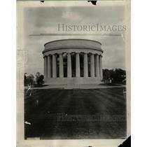 1931 Press Photo Harding Tomb Exterior Marion Ohio - RRW20395