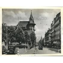 1940 Press Photo City Of Nancy France Was Reported Bombed By German Warplanes