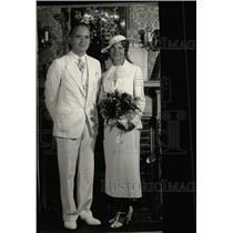 1935 Press Photo Miss Maria Lewis Hurst Charles Delaney - RRW79839