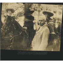 Press Photo Cowboys Horses - RRX84203
