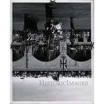 1960 Press Photo Guards Parade Old Fort Henry Kingston - RRX71297