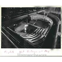 1906 Press Photo Interior of the Madison Civic Center, Madison, Wisconsin