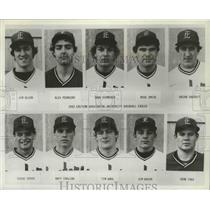 1984 Press Photo Eastern Washington University Eagles baseball team - sps19118