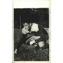 1941 Press Photo Football player, Ted Cook. - abns02358