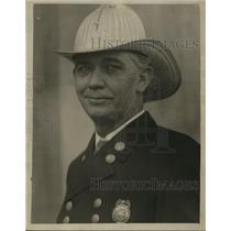1928 Press Photo Birmingham, Alabama Fire Chief, J.L. Akin - abna03822