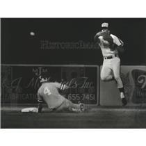 1981 Press Photo Alabama-Birmingham Barons baseball player Vern Followell throws