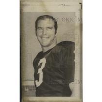1970 Press Photo Oakland Raiders football quarterback, Daryl Lamonica.