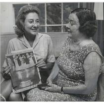 1962 Press Photo Mrs Chichester And Mrs Roberts Women's Alabama Golf Association