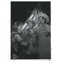 1989 Press Photo members of the American Red Cross, Houston - hca02931