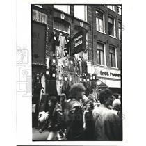 1989 Press Photo The Kalverstraat in Amsterdam, Holland - hca02951