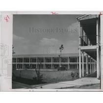 1964 Press Photo Deserted Motel in Angleton, Texas - hca03398