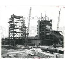 1965 Press Photo Houston Lighting & Power Co.'s new construction - hca03472