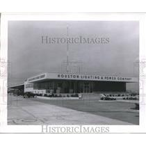 1952 Press Photo Houston Light & Power Company Service Center - hca03513