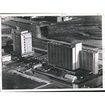 1971 Press Photo The new Esso & Alpha Hotels on the Outskirts of Amsterdam.
