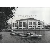 1987 Press Photo The new Stopera (Performing Arts Hall) on River Amstel, Amste