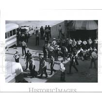 1992 Press Photo Abortion Protesters at the West Loop Clinic, Houston