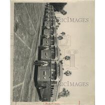 1947 Press Photo transit buses Lang Field parking lot - RRX90019
