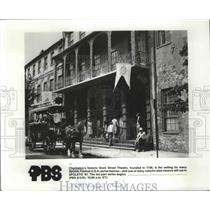 1981 Press Photo Charleston's historic Dock Street Theatre of Spoleto Festival