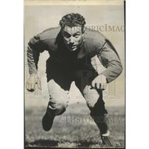 1953 Press Photo Brooklyn Dodgers Football Player and Wrestler Frank Stojack