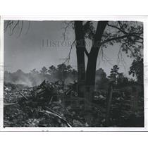 1966 Press Photo Dumps at Acres Homes Subdivision, Houston - hca04165