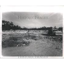 1967 Press Photo Acre Homes Subdivision Dumps, Houston - hca04169