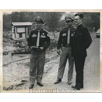 1969 Press Photo Deputies Will Ticket Garbage Dump Violators-Acres Home, Houston