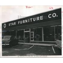 1952 Press Photo  Star Furniture Co. - hca04278