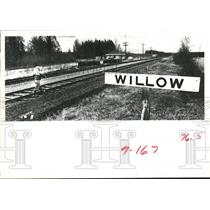 1981 Press Photo Willow Alaska, Proposed Site of the State's New Capital.