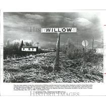 1981 Press Photo Train Station in  Willow Alaska - hca04466