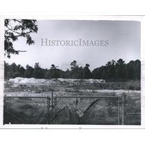 1966 Press Photo Construction Site Acres Homes, Subdivision, Houston - hca04798