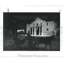 1986 Press Photo Alamo, San Antonio, Mexicans would like to forget the Alamo