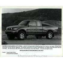 Press Photo Toyota Tacoma Four Wheeler Magazine - RRW62859